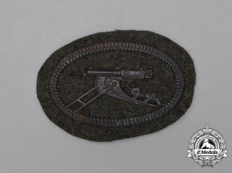 A First War German Machine Gunner Crew Sleeve Patch