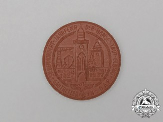 A 1937 NSDAP 700-Year Anniversary of the Hansenstadt-Elbing Commemorative Medallion