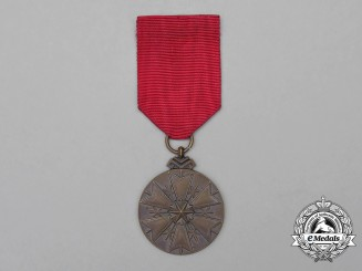 An Estonian Order of the White Star; Bronze Grade Medal