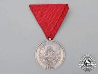 A Hungarian Alapittatott Fire Brigade Long Service Medal for Fifteen Years' ServiceE