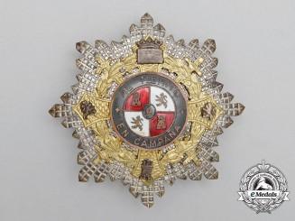 A Spanish War Cross; Officer's Breast Star (1942-1975)