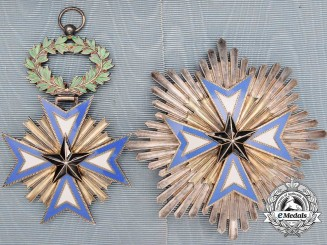 A French Colonial Order of the Black Star of Benin; Grand Cross Set