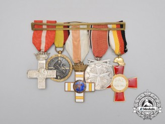 A Spanish Civil War German Eagle Order Medal Bar