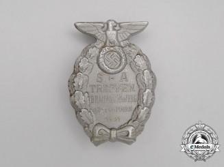 A 1931 SA Meeting in Braunschweig Badge by Wächtler & Lange