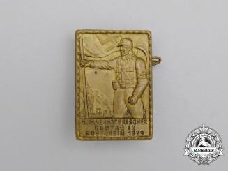 A 1929 1st Upper Bavarian Regional Council Day in Rosenheim Badge