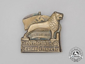 A 1934 Day of Lower Saxony Braunschweig Badge