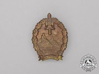 A 1934 Day of the Pfalz War Veteran's Badge