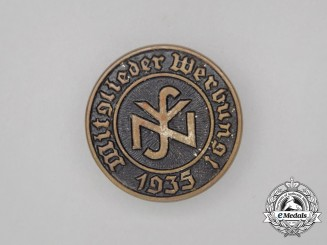 A 1935 NSV Member Acquisition Badge