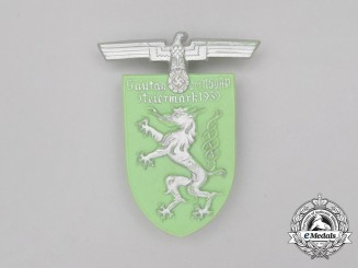 A 1939 NSDAP Regional Council Day of the Austrian Steiermark Badge by Richard Sieper