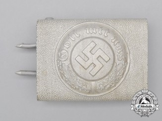 Germany, Police. An Enlisted Man's Belt Buckle
