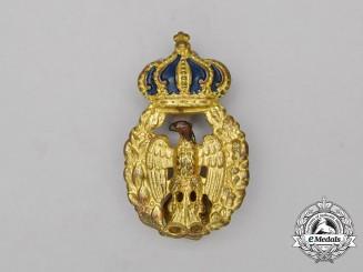 A Second War Italian Army Cap Badge