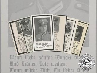 Six Second War German Obituaries