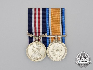 Canada. A Military Medal to the 24th Battalion for Action on Vimy Ridge