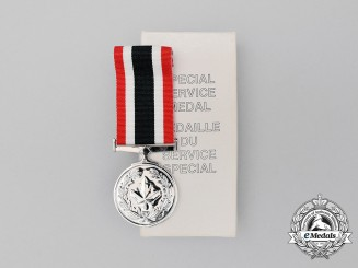 A Canadian Special Service Medal in Box