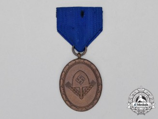 A RAD (Reich Labour Service) Long Service Award for Men; 4th Class Light Version