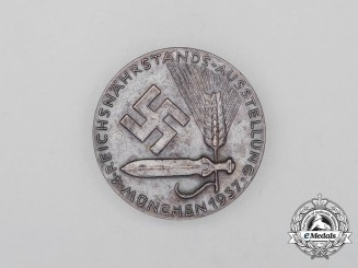 A 1937 Munich 4th Reichsnährstand Exhibition Badge