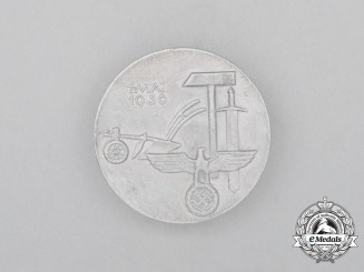 "A 1936 ""Day of Labour"" Badge by Fr. Neuner"