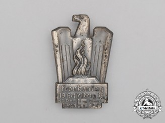 A 1935 NSDAP Day of the Franks in Kesselberg Celebration Badge