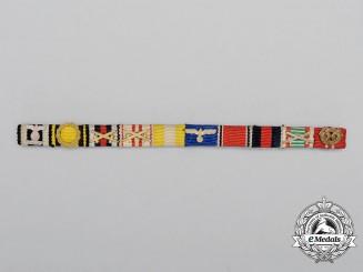 An Extensive First and Second War German Ribbon Bar