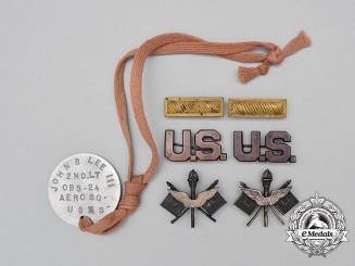 United States. A Group to Second Lieutenant John Burnett Lee III, 24th Aero Squadron