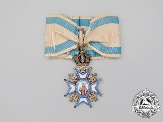 A Serbian Order of St.Sava; 3rd Class Commander, First Model (1882-1903)