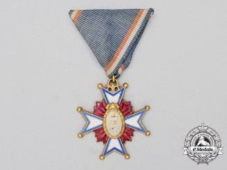 A Kingdom of Yugoslavia Fireman's Merit Decoration
