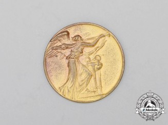 "A 1959 Italian National Olympic Commitee ""Olympic Day"" Medal"