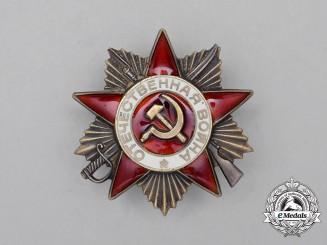 A Soviet Russian Order of the Patriotic War, Type III