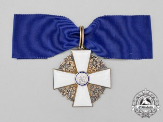 A Finnish Order of the White Rose Commander's Neck Badge