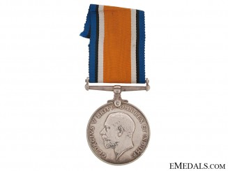 British War Medal to Captain Murray