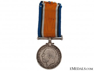 The British War Medal of Lt. Comm. R.V. Southwell