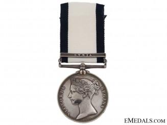 Naval General Service Medal - Lt. Christian