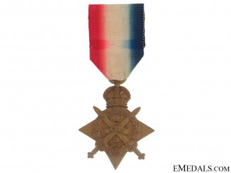 1914 Star - Royal Rifles Corps