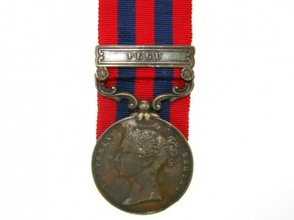 India General Service medal 1854