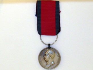 Waterloo Medal 1815,