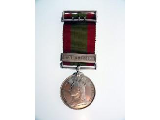 Afghanistan Medal - Lt COL.C.L.WOODRUFFE