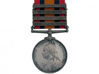 Queens South Africa Medal 1899-1902,