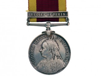China War Medal 1900, Relief of Pekin