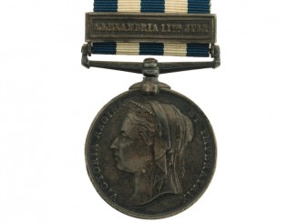 Eygpt Medal 1882-89 – Alexandria 11th July