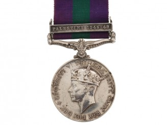 General Service Medal, 1918-1962, DCLI.