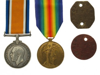 WWI Pair - W.R. Dixon,  R.A.F.