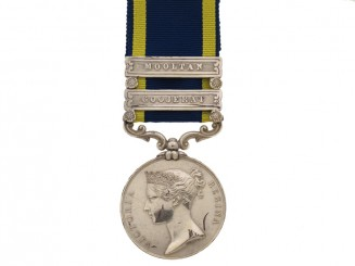 Punjab Medal 1848-49,