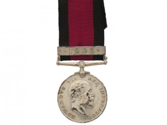 Natal Rebellion Medal 1906,