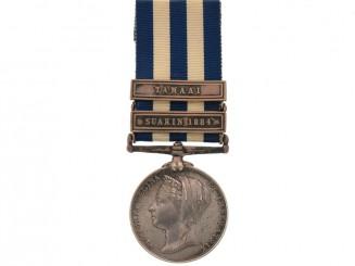 Egypt Medal 1882-89 – H.M.S. Seagull