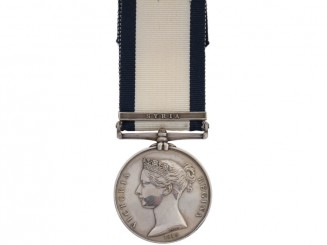 Naval General Service Medal, Private Hale, RM