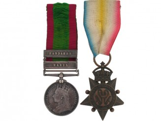 Pair, Afghanistan Medal 1878-1880 and