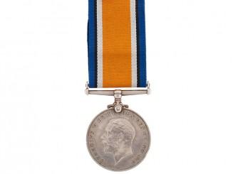 WWI British War Medal  - Tank Corps