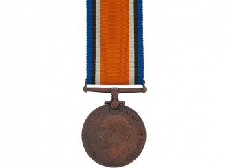 WWI British War Medal, 1914-1920 - Bronze Issue