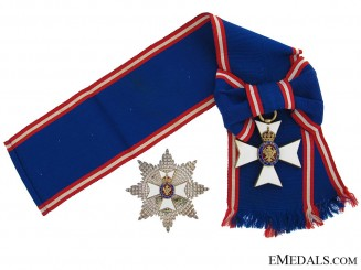The Royal Victorian Order, G.C.V.O.