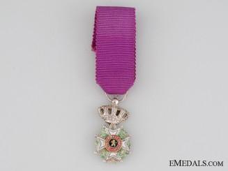 Belgium Order of Leopold, Miniature